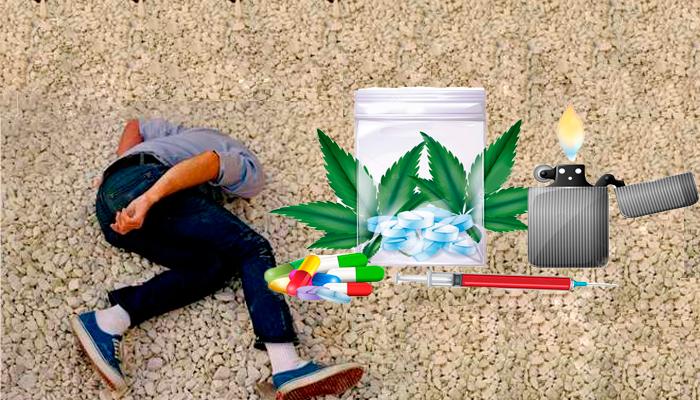 Употребление наркотиков с целью спрятаться от жизненных проблем