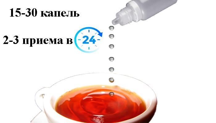 Схема применения препарата СтопЭтил