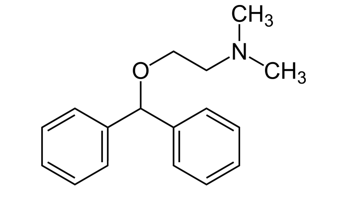 Химическая формула димедрола