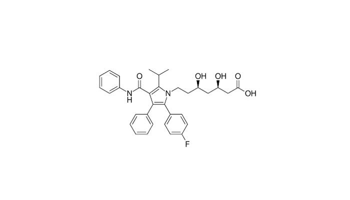 Химическая формула аторвастатина