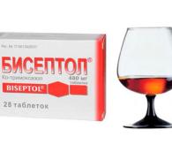 Бисептол и алкоголь: совместимость антибиотика и спиртных напитков