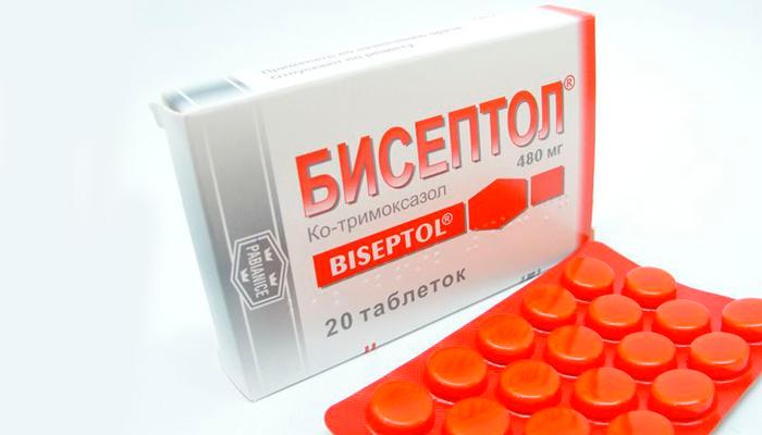 Форма выпуска лекарства Бисептол