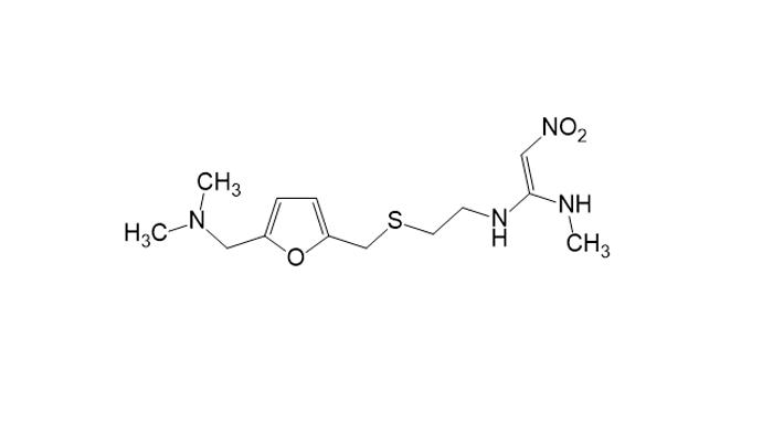 Химическая формула ранитидина