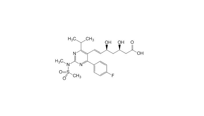 Химическая формула розувастатина