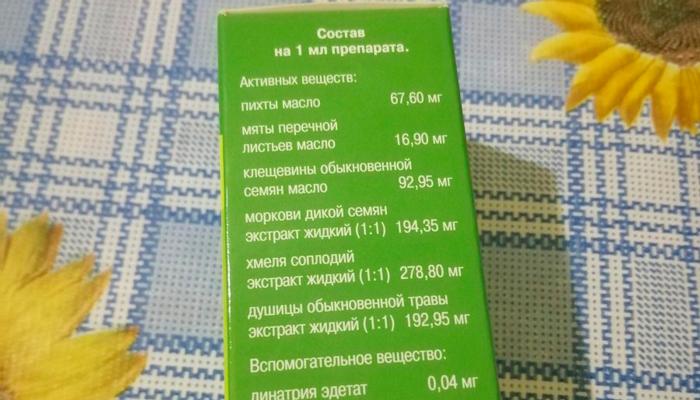 Состав капель лекарства Уролесан