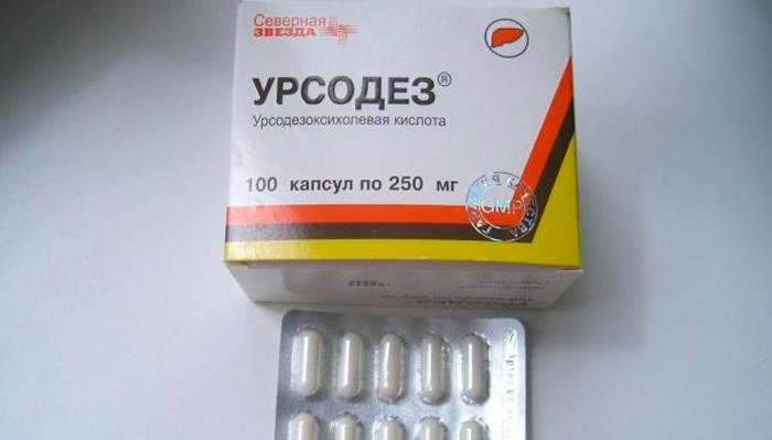 Форма выпуска лекарства Урсодез