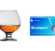 Витапрост и алкоголь: совместимость лекарства от простатита и спиртного