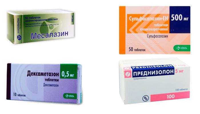 Лекарства в помощь при неспецифическом язвенном колите