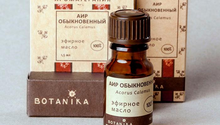 Эфирное масло из Аира болотного