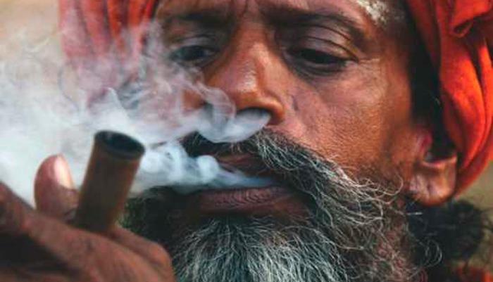 Употребление наркотического вещества Чарас посредством курения