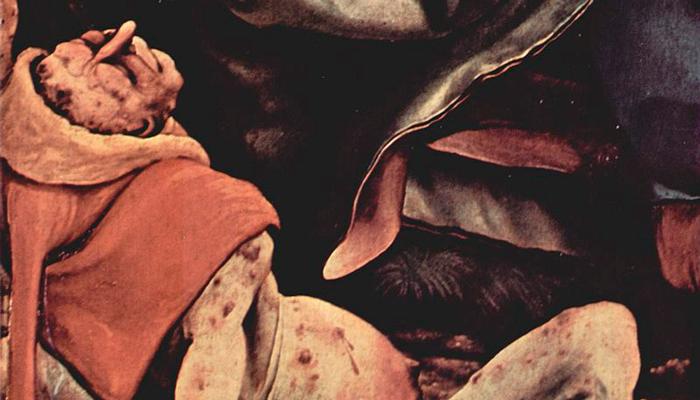 Болезнь эрготизм на картине Маттиаса Грюневальда