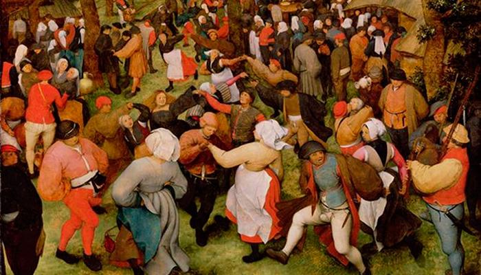 Танцевальная лихорадка в средневековье связанная с отравлением Спорыньей